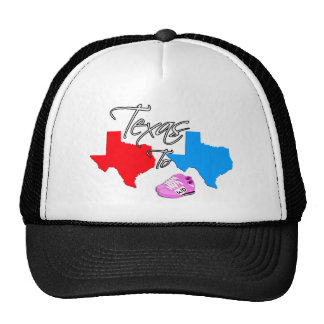 Turning Texas from Red to Blue State Mesh Hats