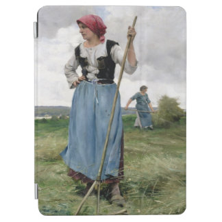 Turning the Hay (oil on canvas) iPad Air Cover