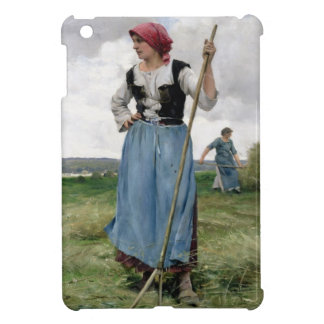 Turning the Hay (oil on canvas) iPad Mini Covers
