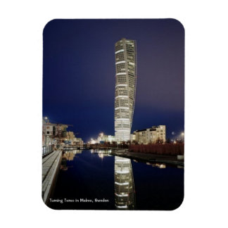 "Turning Torso - 3""x4"" Photo Magnet"
