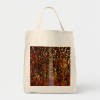turning grocery tote bag