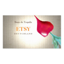 Turnip and Lemon Pack Of Standard Business Cards
