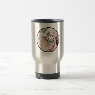 Turnip Lantern and Cat Demons Stainless Steel Travel Mug