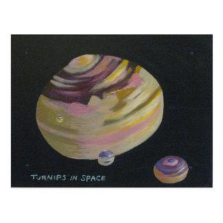 Turnips in Space Postcard