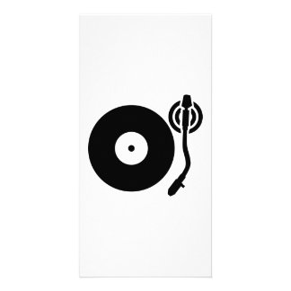 Turntable DJ Picture Card