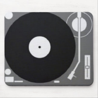 turntable mouse mat