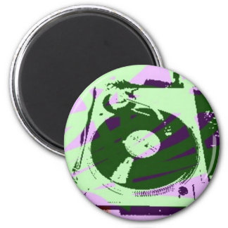 Turntable Product 6 Cm Round Magnet