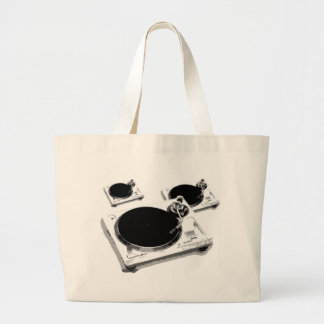 turntables canvas bags