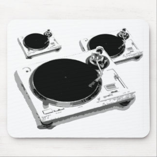 turntables mouse pad