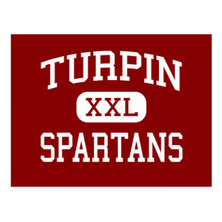 Turpin - Spartans - High School - Cincinnati Ohio Postcard