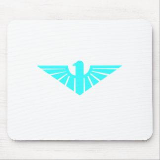 Turqoise Thunderbird Mouse Pad