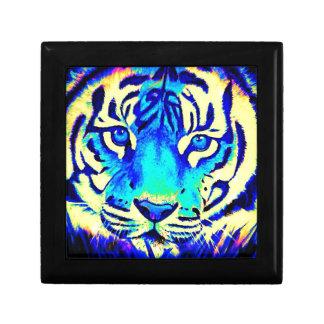 Turqoise tiger gift box