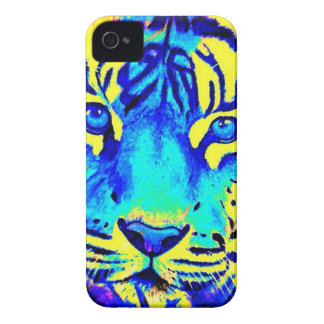 Turqoise tiger iPhone 4 Case-Mate case