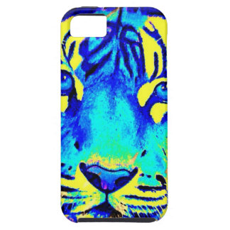 Turqoise tiger iPhone 5 case