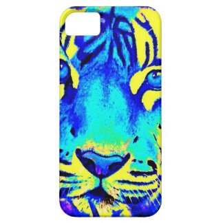 Turqoise tiger iPhone 5 cover