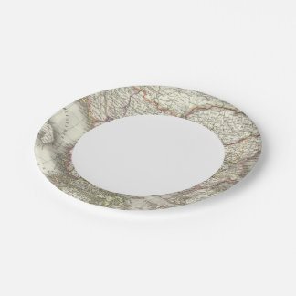 Turquie d'Europe, Grece - Turkey and Greece 7 Inch Paper Plate