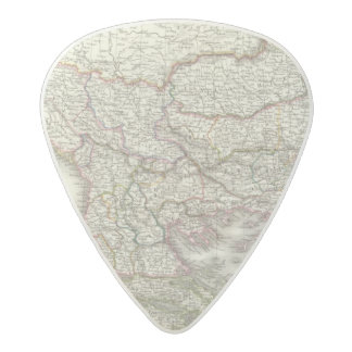 Turquie d'Europe, Grece - Turkey and Greece Acetal Guitar Pick