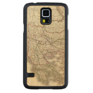 Turquie d'Europe, Grece - Turkey and Greece Carved Maple Galaxy S5 Case