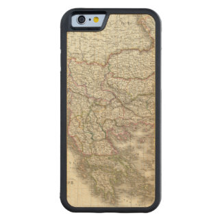 Turquie d'Europe, Grece - Turkey and Greece Carved Maple iPhone 6 Bumper Case
