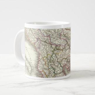 Turquie d'Europe, Grece - Turkey and Greece Large Coffee Mug