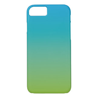 Turquoise 1 (green blue gradient) iPhone 7 case
