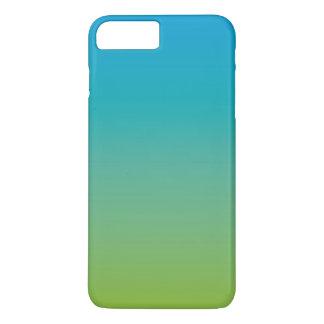 Turquoise 1 (green blue gradient) iPhone 7 plus case