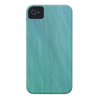 Turquoise abstract iPhone 4 case