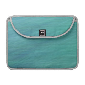 Turquoise abstract sleeve for MacBook pro
