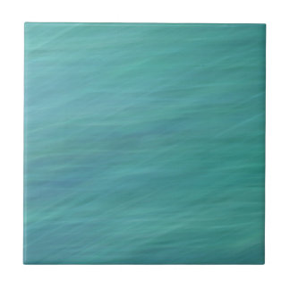 Turquoise abstract tile