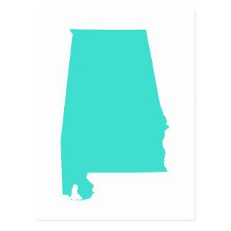 Turquoise Alabama Postcard