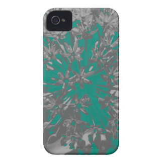 Turquoise Allium Flower iPhone 4/4S Barely There iPhone 4 Case