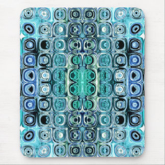Turquoise And Teal Reflections Mouse Mat