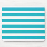 Turquoise and White Stripe Nautical Summer