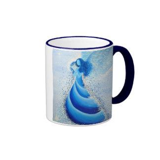 Turquoise Angel Mug No 3 Teetasse