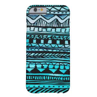 Turquoise Aztec Pattern 2 iPhone 6 Case