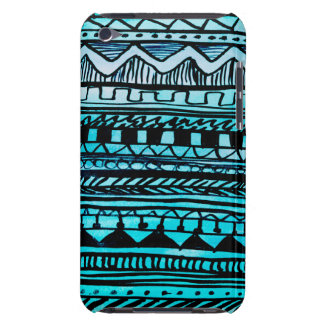 Turquoise Aztec Pattern 2 iPod Touch Cover