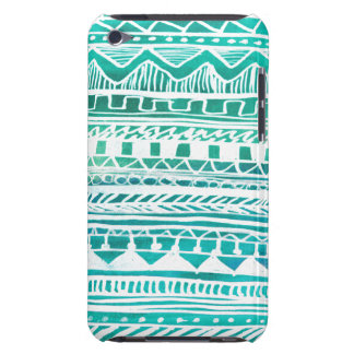 Turquoise Aztec Pattern iPod Touch Case
