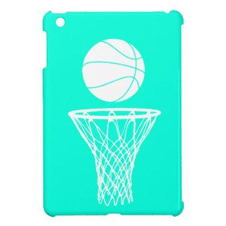 Turquoise Basketball iPad Mini Case