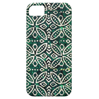 Turquoise Batik iPhone Case Barely There iPhone 5 Case