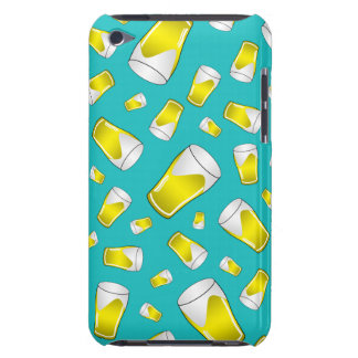 Turquoise beer barely there iPod covers