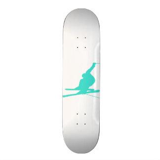 Turquoise Blue Green Snow Ski Skate Board