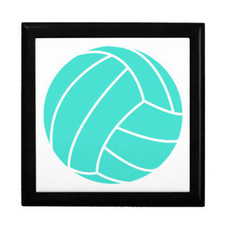 Turquoise; Blue Green Volleyball Gift Boxes