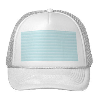 Turquoise Blue Stripes. Cap