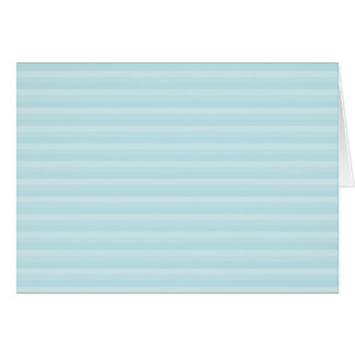 Turquoise Blue Stripes. Card