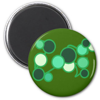 Turquoise bubbles Magnet