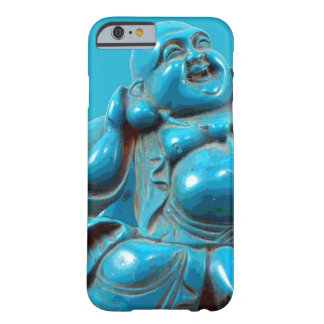 Turquoise Carved Happy Buddha Statue iPhone 6 case Barely There iPhone 6 Case