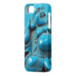 Turquoise Carved Happy Buddha Statue Iphone Case iPhone 5 Covers