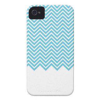 Turquoise Chevron iPhone 4 Case