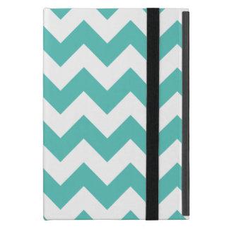 Turquoise Chevron Zigzag Case For iPad Mini