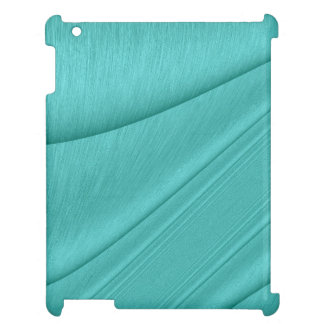 Turquoise Contour iPad Cover